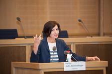 Gastrednerin Prof. Dr. Jutta Allmendinger (Leiterin Wissenschaftszentrum Berlin für Sozialforschung)