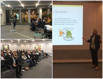 Vortrag von Kirsten Brühl bei der WL Bank in Münster