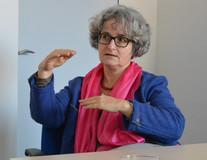Lydia Pawlowski, Personalreferentin der Stadtwerke Augsburg, vermittelte ihre Kollegin Gerhild Buchwald-Kraus