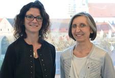 Mentoring-Tandem: Veronika Köpf (l.) und Gerhild Buchwald-Kraus (r.)