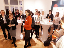 Über 30 Teilnehmerinnen bei der Happy Hour