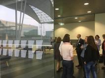 Besonderes Ambieten: Der Markenraum des Flughafen Münchens