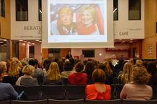 Vortrag von Dr. Nadja Tschirner bei der Kreissparkasse Augsburg