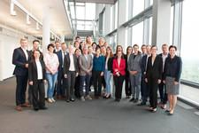 Vormittagsgruppe der Teilnehmerinnen und Teilnehmer am CMM20