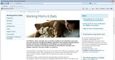 """Working Moms and Dads"" (WMAD), Beruf und Familie"