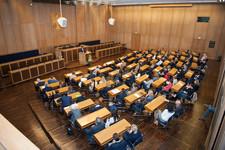 Auftaktveranstaltung des Regionalen Frankfurter Mentorings im Sitzungssaal