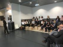 Dr. Nadja Tschirner, Geschäftsführerin von Cross Consult, fasst das gemeinsame Mentoring-Jahr zusammen